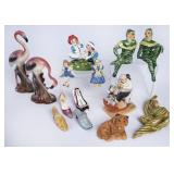 Home Decor Figurine & Shoe Lot