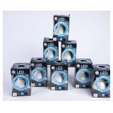 8 NIP GE LED 65W-Replacement 10W Light Bulbs