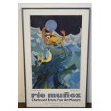 1989 Seattle Frye Art Museum Framed Tapestry,