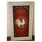 "The Finest Eggs Wall Decor, 12.5""x21.5"""