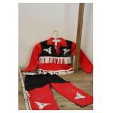 Vtg Childs Cowboy Outfit,
