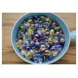 Big Bowl Of Glass Stones