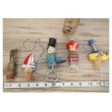 Vintage Bottle Stoppers And Bottle Openers