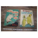 2 Dr. Seuss Books, Horton Hatches The Egg, Sleep