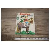 1956 Chester The Little Pony Book.