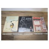 Two Far Side Books And Mad Special Mag.