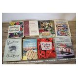 8 Cook Books, White House Cook Book And More
