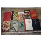 10 Cook Books, Hershey 1934 Cookbook And More