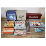 Assorted Games, Outburst, Cribbage, Dominoes