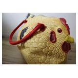 Rubber Chicken Bag, Zipper Closure