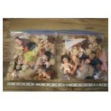 Two Big Bags Assorted Mini Dolls