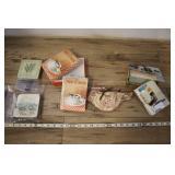 Greeting Cards Box Sets, Vintage Floral Coasters