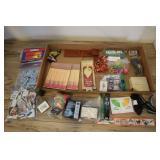 Mishmash Lot- Matches, Matchbook Notepads, Jacks,