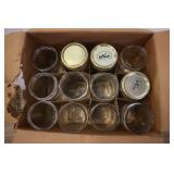 Case Of Wide Mouth Ball And Kerr Mason Jars, Box 2