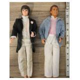 Pair Of Ken Dolls, 1968 Blue Coat, 1988 Tuxedo