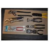 Hand Pliers, Snips, And Cutters Assorted