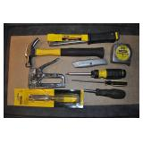 Stanley Tools, Hammer, Chisel, Stapler, Screw Drvr