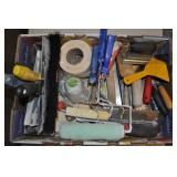 Assorted Hand Tools - Concrete Drywall Tile Paint