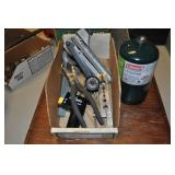 Assorted Pipe Tools - Bender, Cutter, Holder Misc