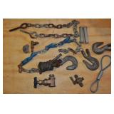 Assorted - Rigging Hooks, Chain, Pins Misc