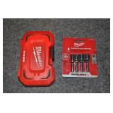 Wilwakee Nut Drivers, Drill Bits And Case