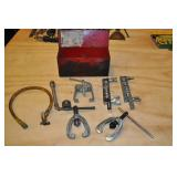 Red Metal Box With Pipe Fitting Kit
