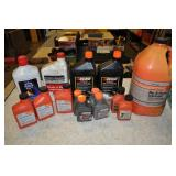 Assorted Bar And Chain Oil + 2 Stroke Mix
