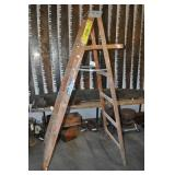 A-frame Wood Ladder 6
