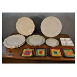Platters And Plates, Assorted