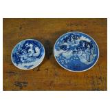 Porsgrund Norway Collectible Plates, Blue & White
