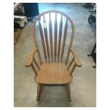 "Rocking Chair Solid Wood. Seat 20""x18"", Back"