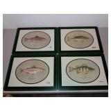 Fish Placemats Set Of 4 , 16x12