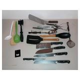 Kitchen Utensils And Cutlery Assorted