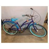 "Schwinn Cruiser Bicycle 26"", Purple Blue And"