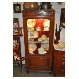 Display Cabinet, Antique, Classical Style