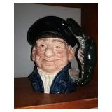 Repaired Royal Doulton Lobster Man 1967character