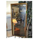 Long Mirror, Gold Accented Frame