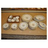 Vintage Noritake China Set Made In Japan.
