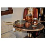 5 Piece Copper Set