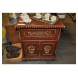 "Side Cabinet, Wood 24"" X 16"" X 30"""