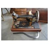 Sewing Machine, Singer, Portable, With Case