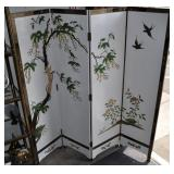 Room Divider, Wood Panels, Lacquered And Painted,