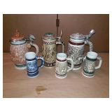 Avon Steins and mugs tribute to the wild west,