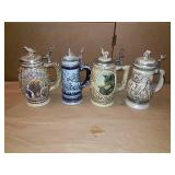 Avon wildlife steins.