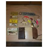 Fishing tackle set,  Creek Chubb bait company