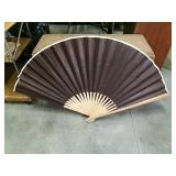 Large Fan, Bamboo And Paper, 50""