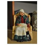 "Royal Doulton "" Forty Winks"" Figurine"