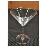 "Waterford Marquis Martini Glass 6 5/16"" High"
