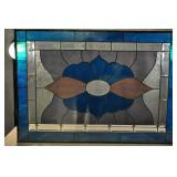 Stained Glass Window, 28x40, Beveled Glass.