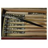 Carvel Hall Steak Knife Set, Vintage, Set Of 8
